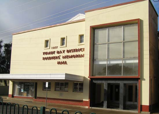Tumby Bay Soldiers Memorial Hall